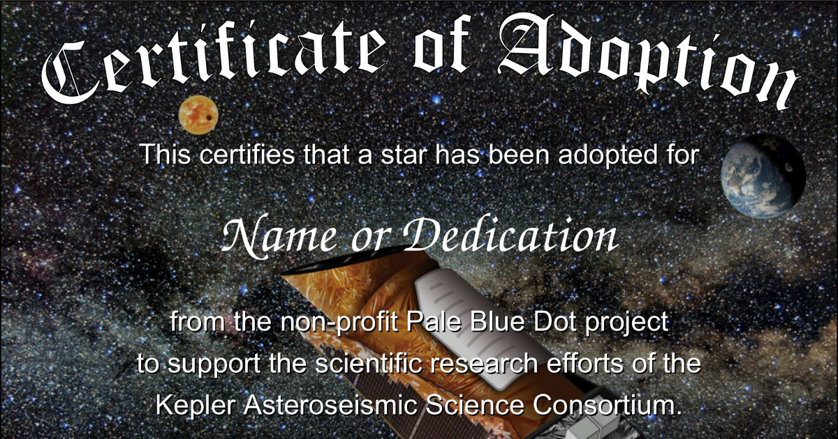 Adopt a Star - the non-profit alternative that supports astronomy ...